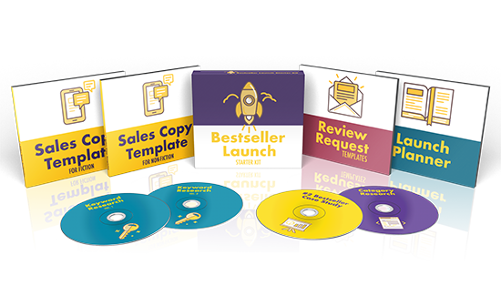 graphic representing the Bestseller Launch Starter Kit